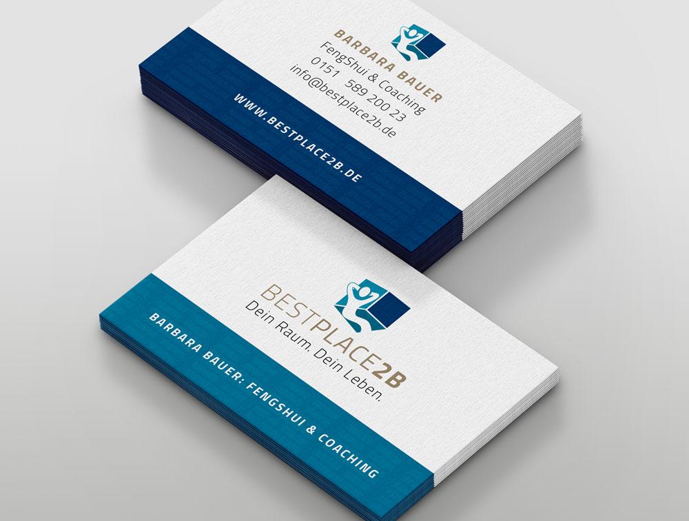 Visitenkarten entwerfen, Visitenkarten-Design, Design Mainz