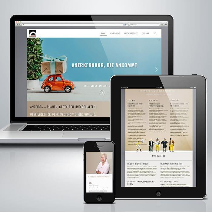 Webseiten designen lassen