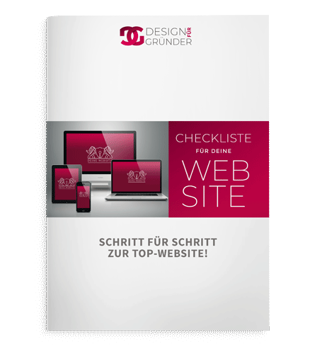 Checkliste für deine Website