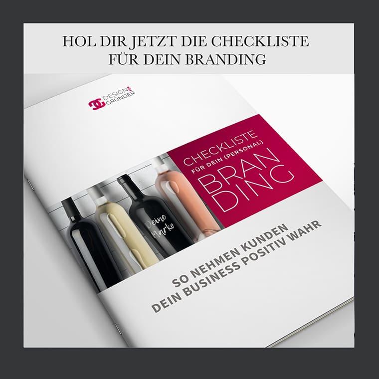 Freebie - Checkliste für dein Branding