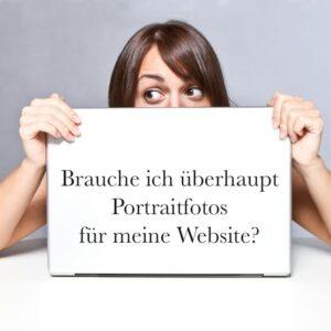 Portraitfotos für deine Website