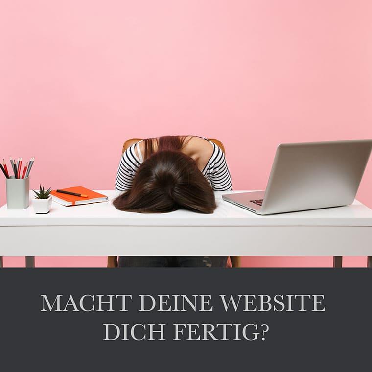 Webdesign-Coaching - website erstellen leicht gemacht