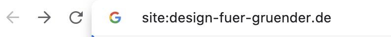 Checke ob deine Website indexiert ist