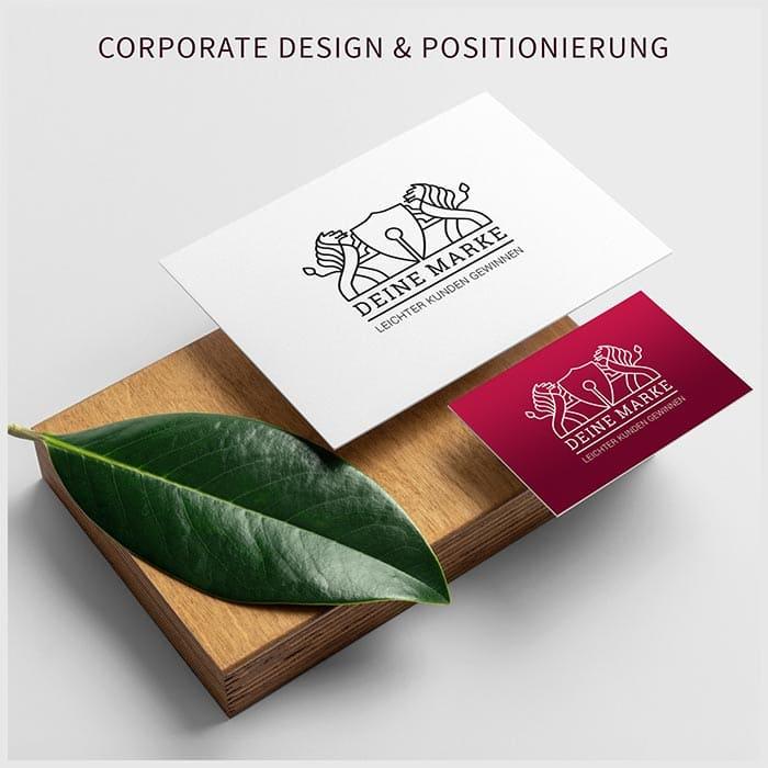 Corporate Design, Positionierung als Marke